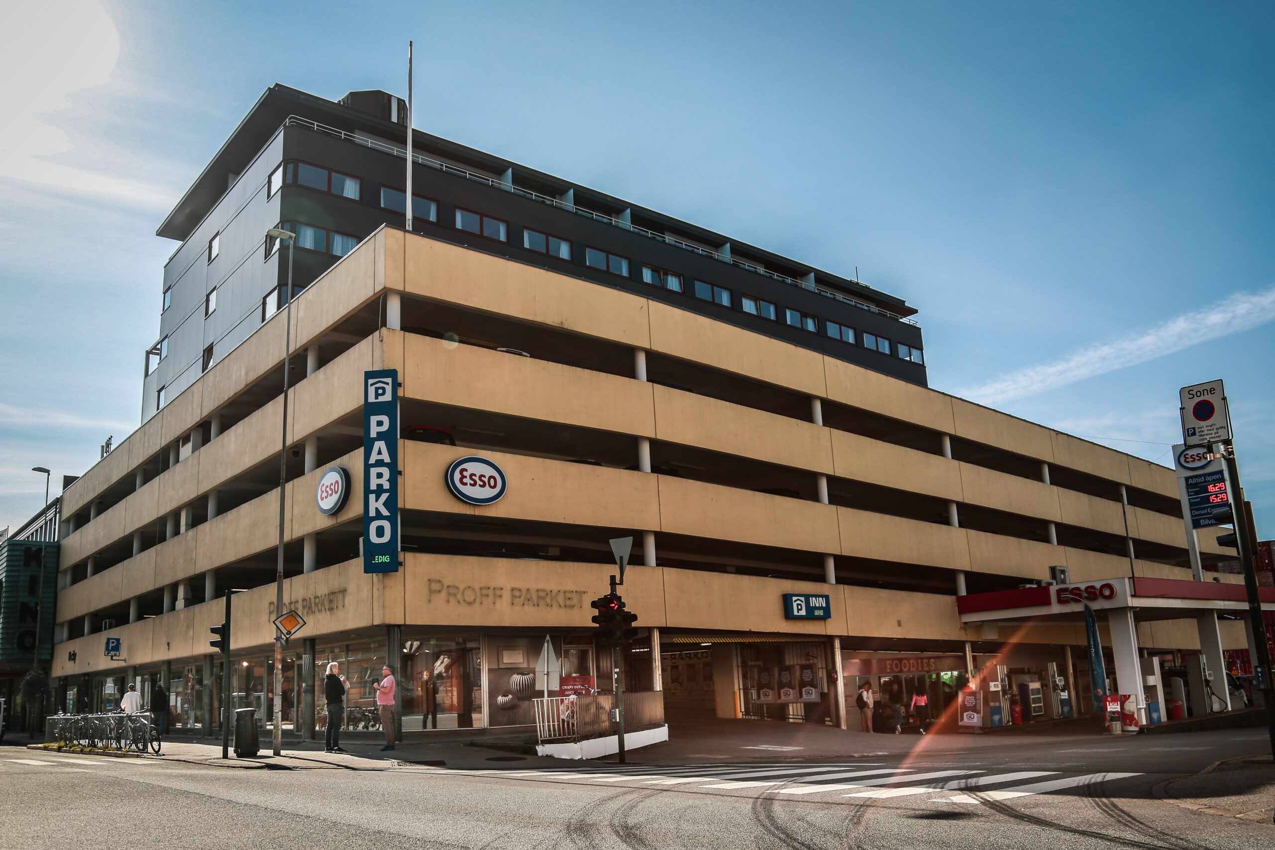 En institusjon i bybildet fyller 50 år